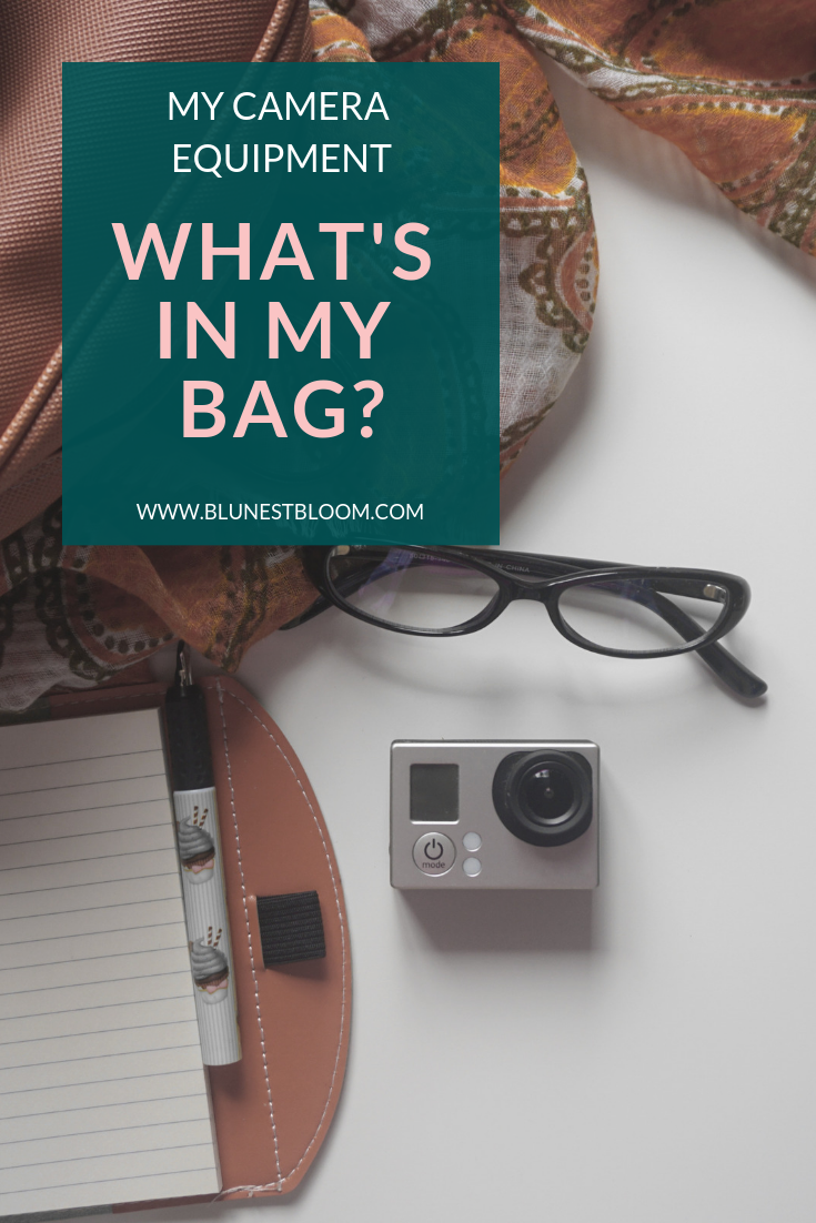 my camera equipment - What's in my bag