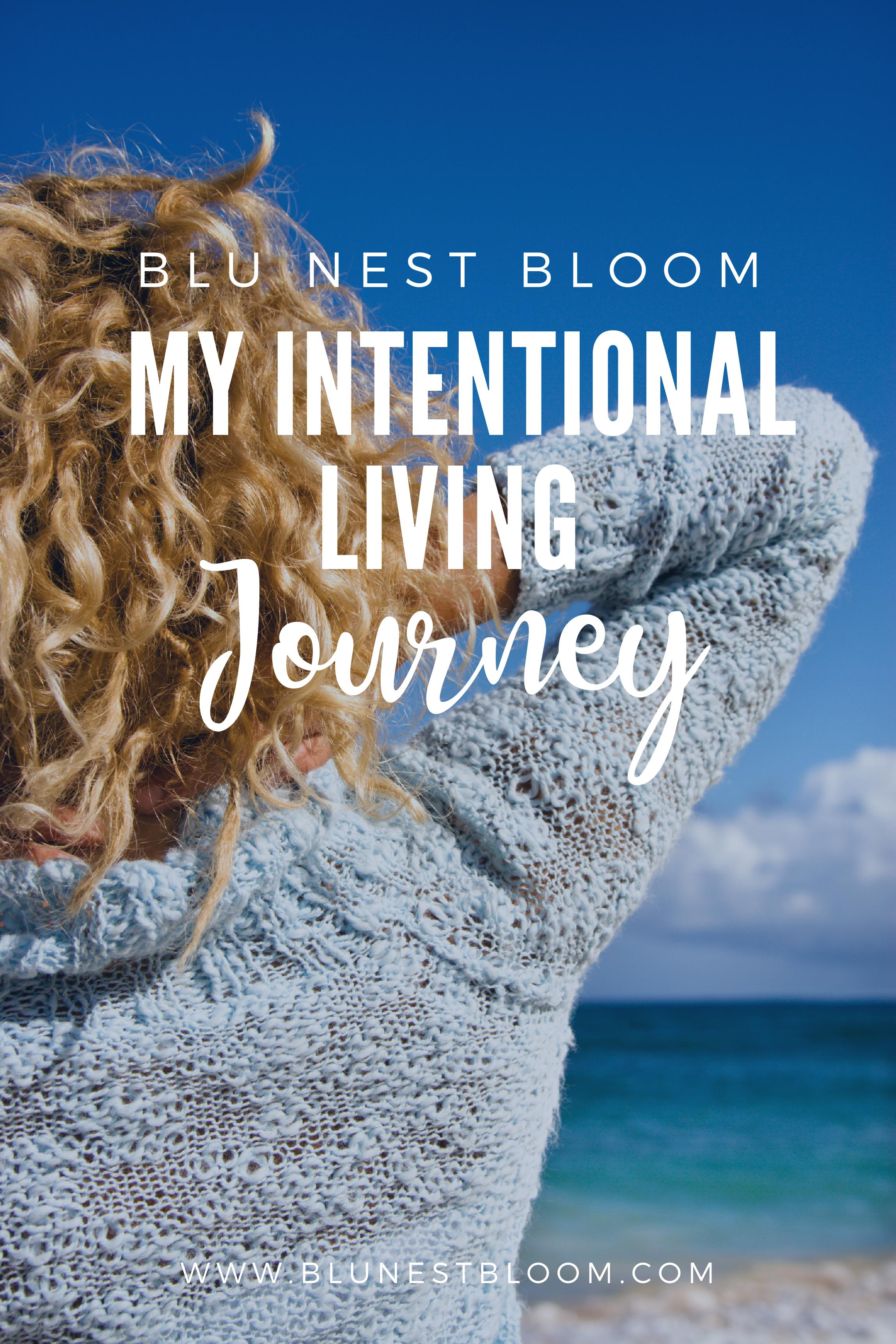 My Intentional Living Journey
